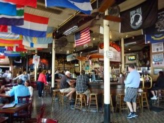 L'interno del bar Sloppy Joe's