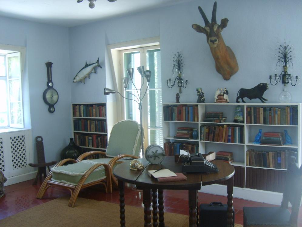 L'interno della casa di Hemingway